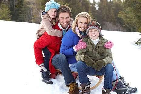 20 отменных идей для зимней прогулки с детьми