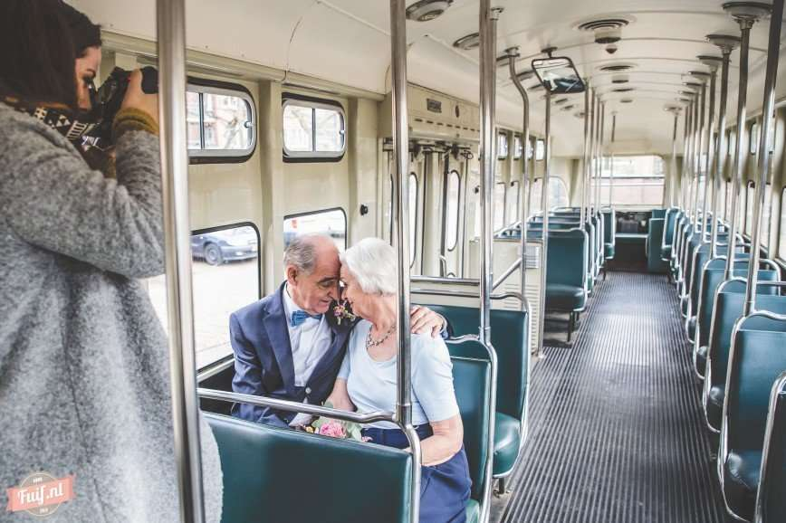 Романтическая фотосессия: 55 лет вместе в любви и согласии