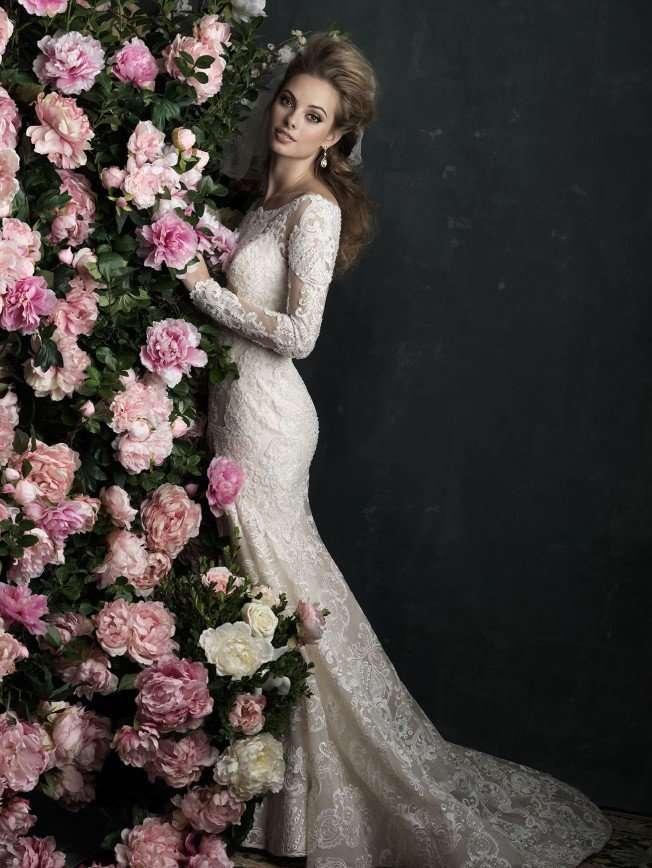 Свадебная коллекция Allure Bridals, весна 2017