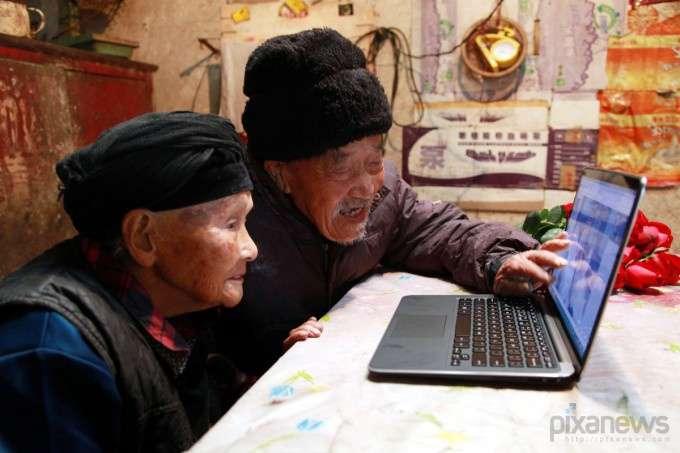 Первое фото пары за 88 лет брака