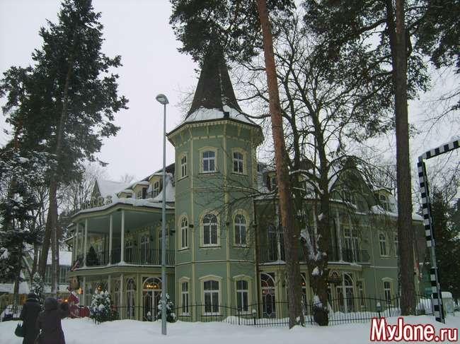 Різдвяна казка в Юрмалі