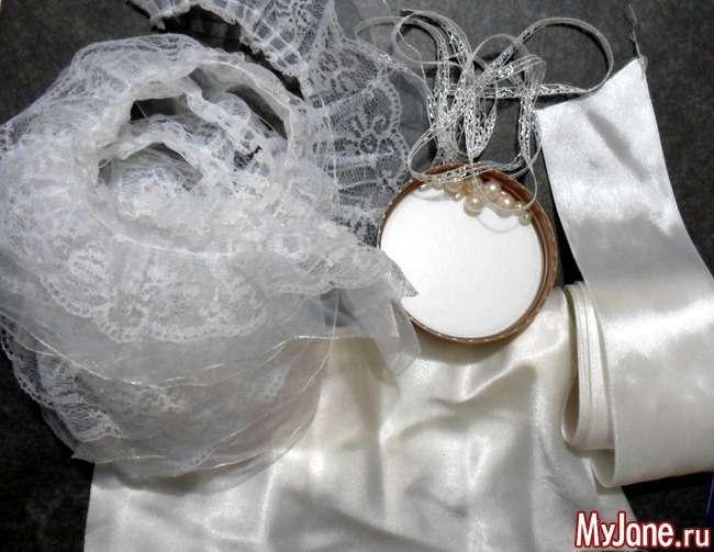 Підвязка для нареченої. Майстер-клас