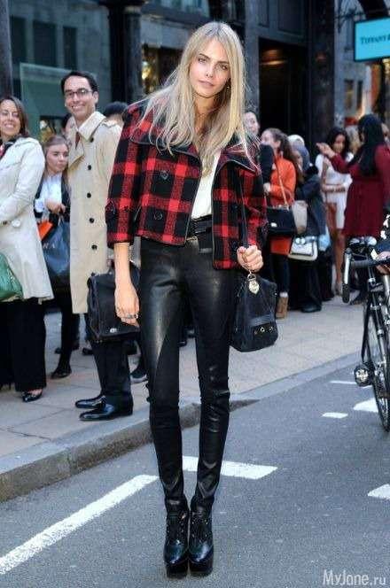 Нова Кейт Мосс: стиль Кара Делевінь