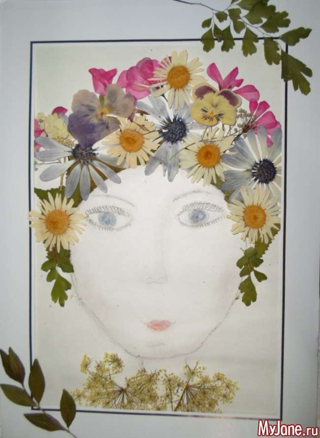 Портрет матусі: флористичні заняття з дітьми