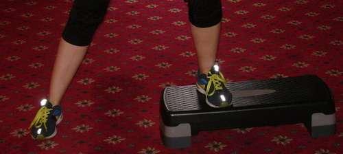Степ будинку: аеробне навантаження для тих, хто вирішив схуднути
