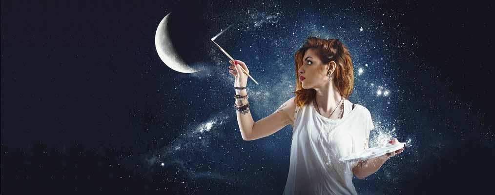 Енергія місяця для стану Коханка